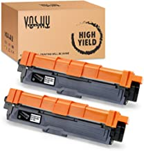 Voshy Compatible Toner Cartridge Replacement for Brother TN221BK TN221 Used to HL-3170CDW MFC-9130CW MFC-9340CDW MFC-9330CDW HL-3140CW HL-3180CDW Printer 2500 Pages (Black, 2-Pack)