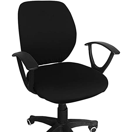 Universal Stretch Desk Chair Cover for Rotating H Computer Office Chair Covers
