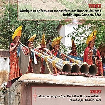 Tibet : musique et prières aux monastères des Bonnets jaunes (Tashilhunpo, Ganden, Séra)
