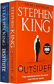 Stephen King Collection 2 Books Set (If It Bleeds [Hardcover], The Outsider)