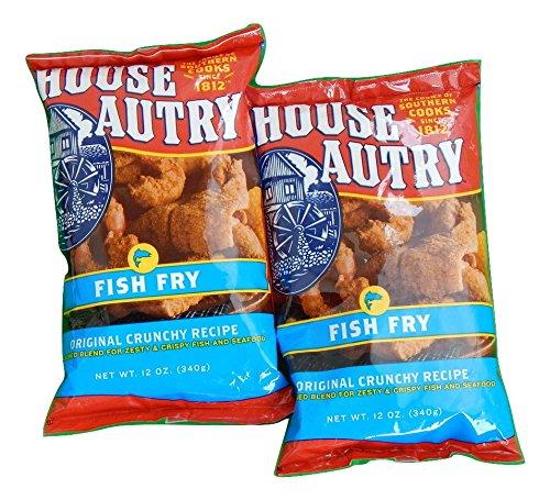 House Autry Fish Fry Breader, Original Crunchy Recipe, 12-Ounce Bag (Pack of 2)