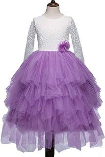 (BaQi Trade)子供ドレス ガールズドレス 女の子ドレス 子供ドレス キッズ フラワーガールズ 子供フォーマル シフォン