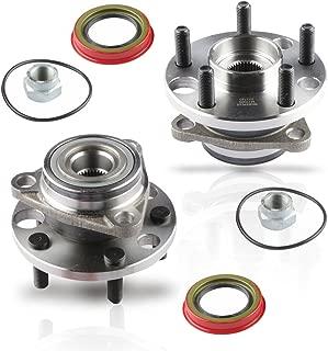 MOSTPLUS Wheel Bearing Hub Front Wheel Hub and Bearing Assembly 513017k for Cavalier, Firenza, Grand Am, Skylark, Sunbird, Sunfire Left & Right Side 5 Lug (Set of 2)