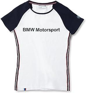 【正規輸入品】 BMW MOTORSPORT ファン?Tシャツ(レディース) ホワイト/ダーク?ブルー S