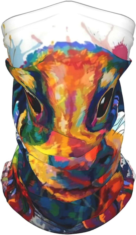 Weiner Dog Neck Gaiter Multipurpose Headwear Ice Silk Mask Scarf Summer Cool Breathable Outdoor Sport 4 Pcs