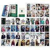 BTS LOMO Tarjetas 54pcs BTS del alma 7 tarjetas nuevo álbum tarjetas BANTAN Boys BTS Postales 7 tarjetas (BTS-2021)