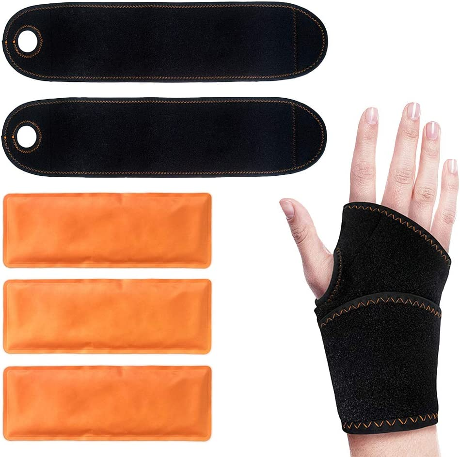 Wrist Ice Gel Manufacturer Ranking TOP15 OFFicial shop Pack Wrap for Cold - Great S Hot Therapy
