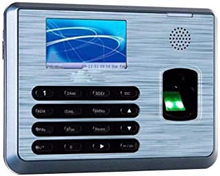 WSJTT Biometric Fingerprint Attendance Machine TFT LCD Display Fingerprint Attendance System Time Clock Employee Checking-...