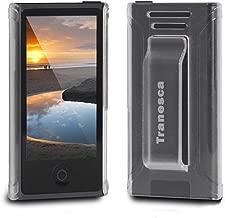 Tranesca Compatible with iPod Nano Protective case for Apple iPod Nano 7th & 8th Generation (Frost Clear)