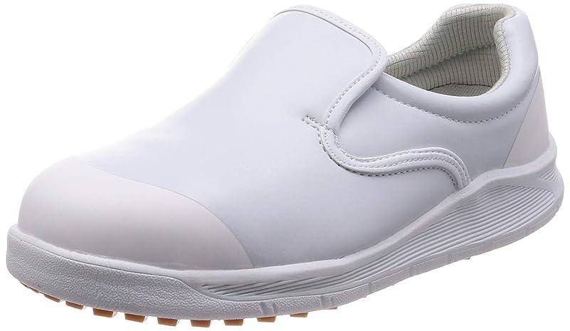 テセウス変更可能偽善[シモン] 作業靴 セーフティースニーカー 耐滑 防菌 防カビ 厨房 コックシューズ 先芯入 SC217T