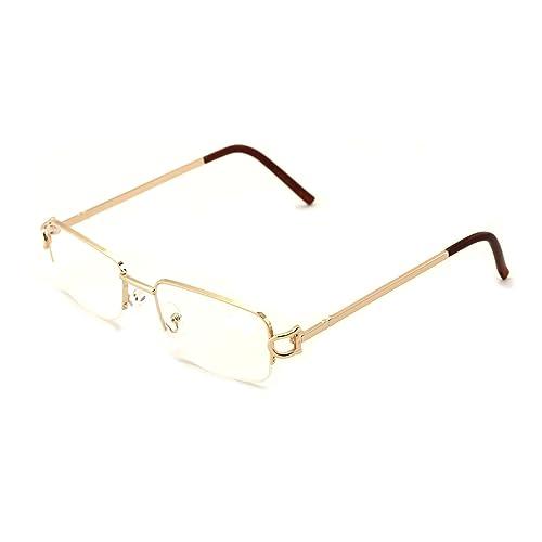 fcf292928f9 V.W.E. Rectangular Frame Clear Lens Designer glasses RX Optical EyeGlasses