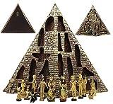 Ebros Egyptian Monument Pyramid Display...