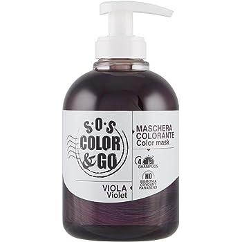 S.O.S COLOR & GO Maschera Colorante Riflesssante e ravvivante Viola 300 ml
