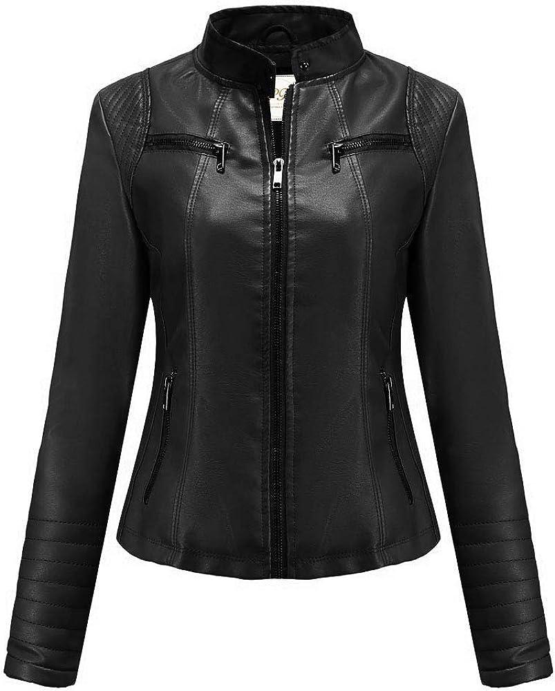 Pelletteria Factory Black Sheepskin Faux Leather Jacket for Women 2021 Lastest Collection