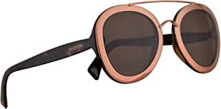 9325683e21 Valentino VA 4014 Sunglasses Rose Gold w Brown Lens 58mm 500273 VA4014S  VA4014 S