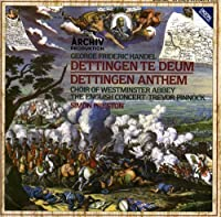 Handel: Dettingen Te Deum; Dettingen Anthem (1990-10-25)