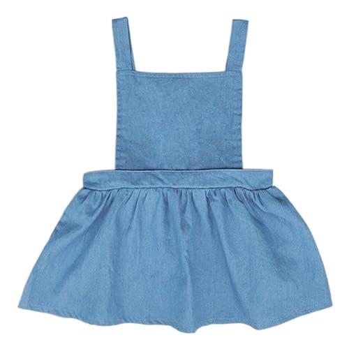 fe4c37d11d4 YOHA Baby Girls Denim Soft Jumper Dress Suspender Skirts Pinafore Tutu Dress