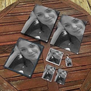 Katie Holmes - Original Art Gift Set #js003 (Includes - A4 Canvas - A4 Print - Coaster - Fridge Magnet - Keyring - Mouse M...