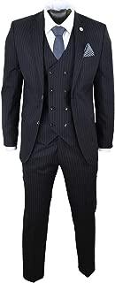 Best mens pinstripe suit black Reviews