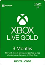 Xbox Live Gold: 3 Month Membership [Digital Code]