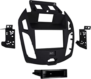 Metra 99-5831B Double/Single DIN Dash Kit for 2014 - Ford Transit Connect with OEM 4.3 Screen (Black)