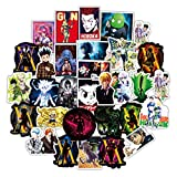 50Pcs Anime Stickers Japanese Cartoon Anime Waterproof Vinyl hxh Stickers Decals for Laptop Water Bottles Skateboard Car Luggage Computer Cell Phone (50-PCS)