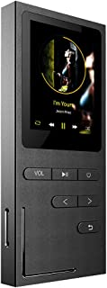 C18 8GB 1.8 Inches Screen MP3 Player HiFi Metal Music Player Black