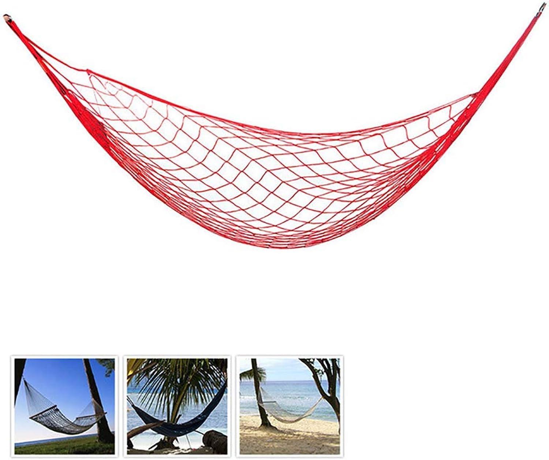 Mesh Hammock,Camping Hammock Breathable Portable UltraLight Nylon Swinging Hammock for Outdoor Garden Patio Hiking