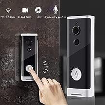 Wireless Video Doorbell Camera,Unine Smart Wi-Fi Doorbell Secure Hd Camera with Motion Detector,Security Camera, Video Phone Visual Intercom Door Bell,Two-Way Audio Night Vision