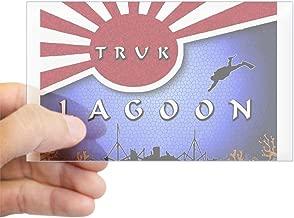 CafePress Truk Lagoon Wreck Diver Origi Rectangle Sticker Rectangle Bumper Sticker Car Decal