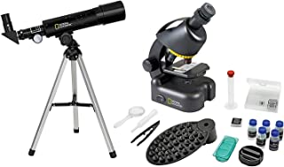 National Geographic Set Telescopio-Microscopio con Soporte
