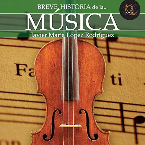 Breve historia de la música audiobook cover art