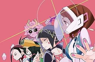 TianSW OCHAKO URARAKA (21inch x 14inch/53cm x 35cm) My Hero Academia Season 3 Midoriya Izuku All Might Waterproof Poster No Fading