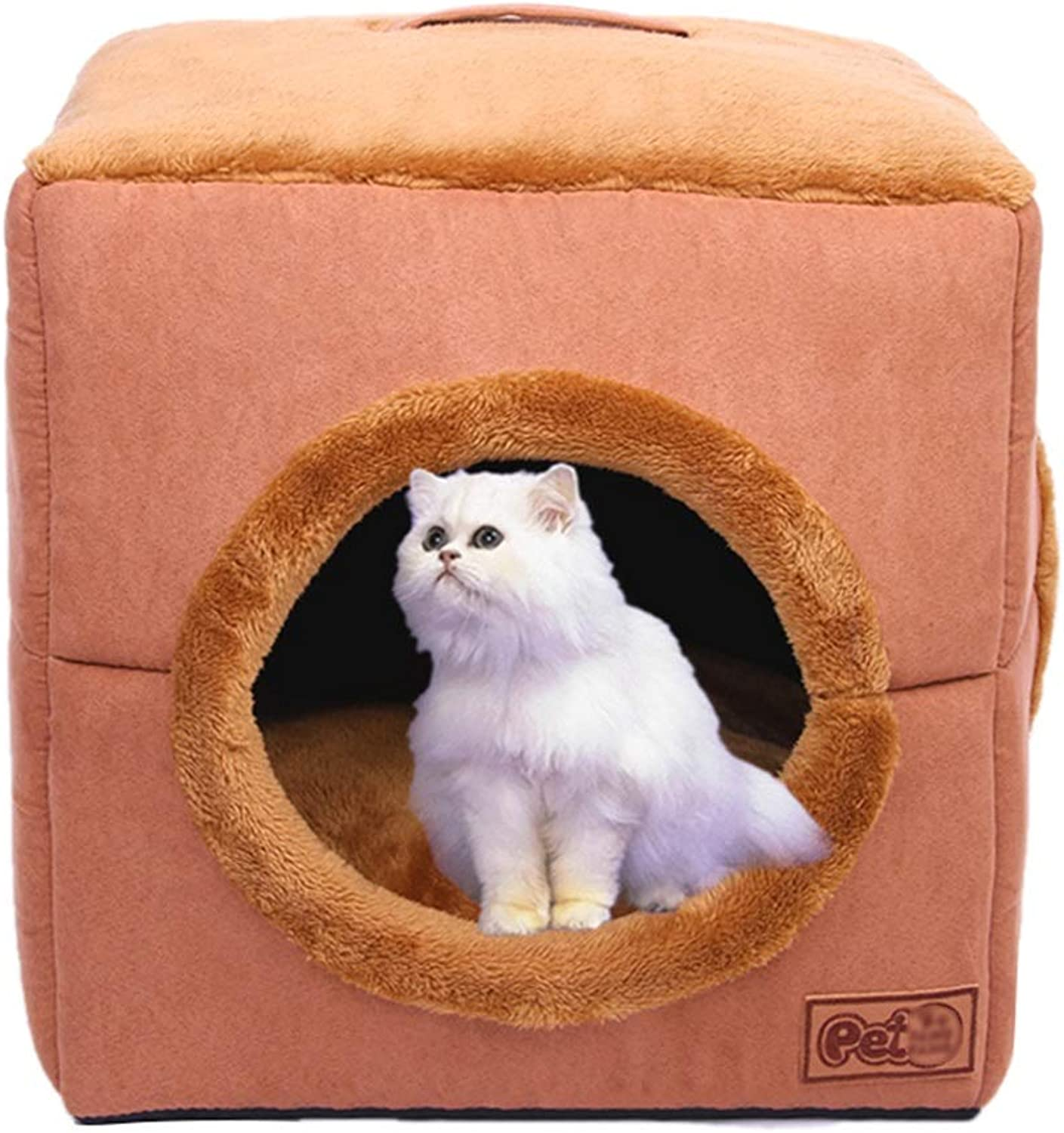 Cat Bed   Cat House Cat Sofa Removable & Washable Cat Supplies, Small Size - Suitable for All Seasons