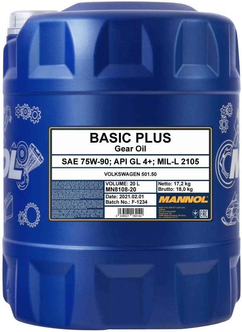 Mannol Basic Plus 75w 90 Auto
