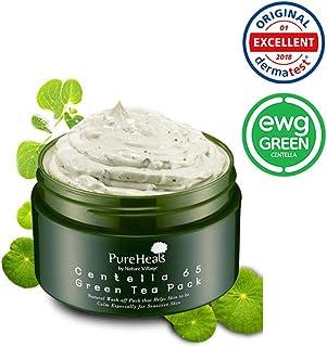 Pure Heal's La mascarilla de té verde Centella 65 se lava