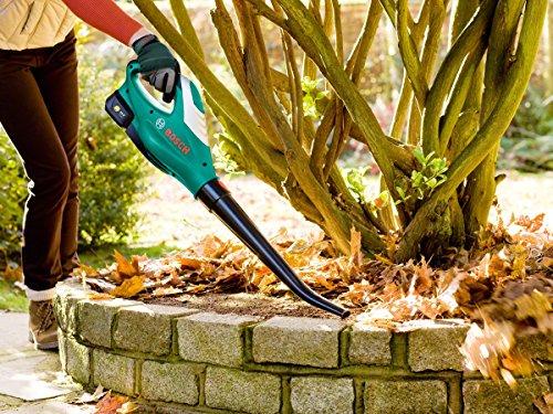 Bosch 06008A0571 ALB 18 LI Cordless Leaf Blower with 18 V 2.5 Ah...