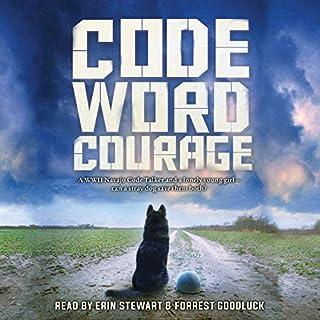Code Word Courage audiobook cover art