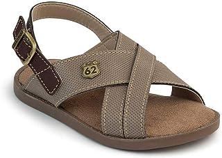 Sandalia de menino Pimpolho BR Masculino CINZA
