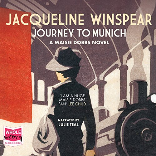 Journey to Munich     A Maisie Dobbs Mystery, Book 12              By:                                                                                                                                 Jacqueline Winspear                               Narrated by:                                                                                                                                 Julie Teal                      Length: 9 hrs and 1 min     7 ratings     Overall 4.4