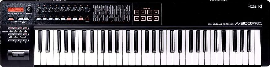 Roland 61-key MIDI Keyboard Controller, black (A-800PRO-R) (Renewed)