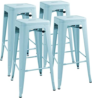 Remarkable Amazon Com Dhp Fusion Metal Backless 30 Bar Stool With Ibusinesslaw Wood Chair Design Ideas Ibusinesslaworg