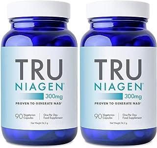 TRU NIAGEN Nicotinamide Riboside Chloride - Gepatenteerde NAD-precursor voor de vermindering van vermoeidheid en vermoeidh...