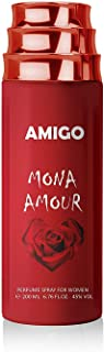 AMIGO BODY SPRAY (MON AMOUR) IMPRETION OF Amor Amor By Cacharel For Women.