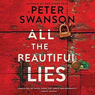 All the Beautiful Lies     A Novel              By:                                                                                                                                 Peter Swanson                               Narrated by:                                                                                                                                 Sarah Mollo-Christensen                      Length: 9 hrs and 13 mins     402 ratings     Overall 4.1