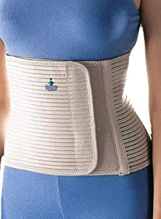 Oppo 2260 Abdominal Binder, Large, Core Support Brace for Women, Comfortable Abdomen Belt for Postnatal Support and Stability, Firm Compression Belt that Contours the Waist for Hip Support