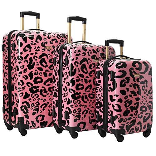 kensie 3 Piece Luggage Set, Coral
