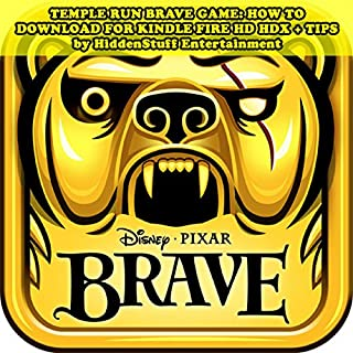 Temple Run Brave Game audiobook cover art