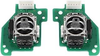 Sutinna Remplacement des bâtons de Joystick 3D, Joystick analogique Gauche et Droit pour Playstation pour contrôleur Wii U...