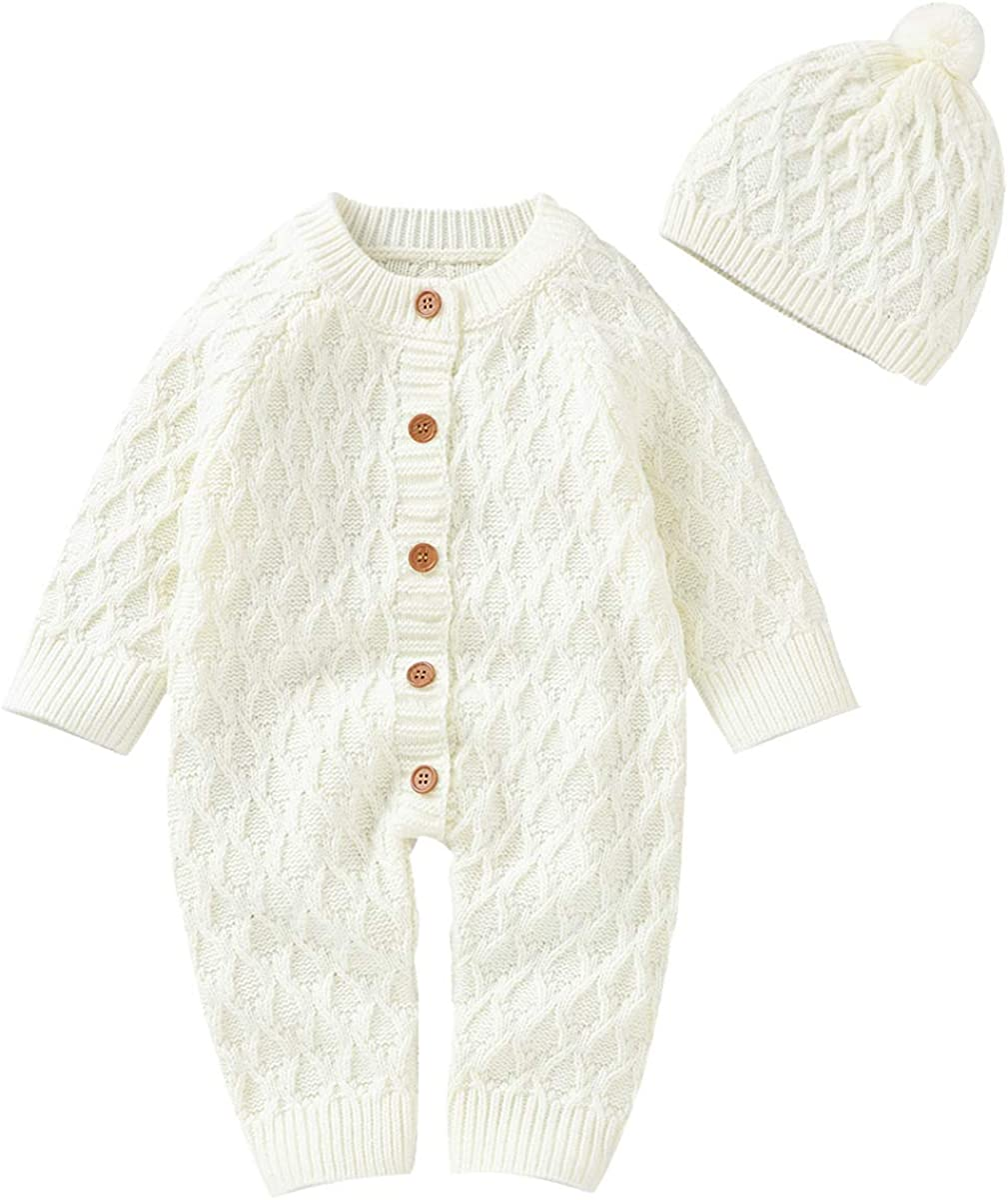 Petyoung Newborn Ranking TOP12 Baby online shopping Knitted Jumpsuit Romper Sweater Longsleeve